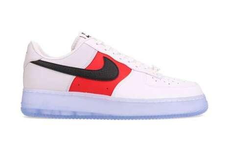 Tri-Tonal Casual Sneakers