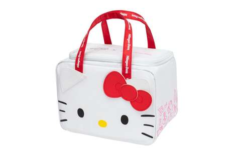 Cartoon Cat Cooler Bags