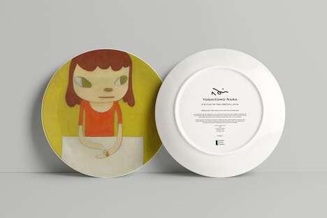 Charitable Artist-Designed Porcelain Plates
