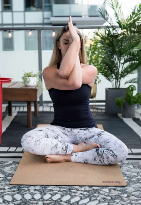 Carbon Neutral Cork Yoga Mats