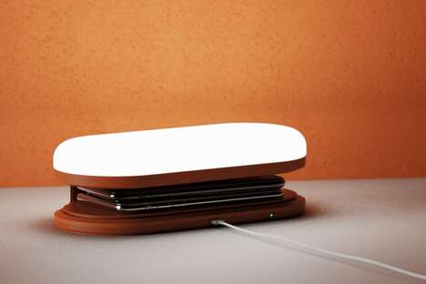 Technology-Charging Ambient Illuminators - The Conceptual 'Lance' Lamp Has a Friendly Design