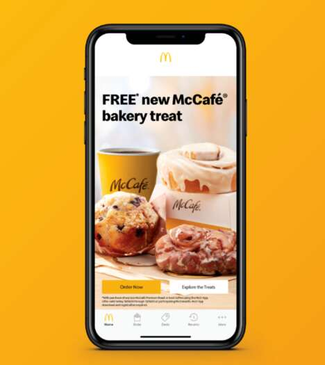 App-Specific Bakery Giveaways