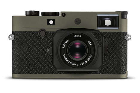 Celebratory Anniversary Cameras - The Leica M10-P 'Reporter' is Limited to Just 450 Examples