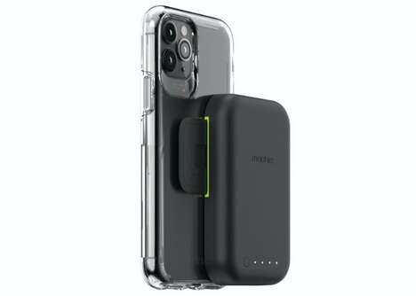 Smartphone-Mounted Battery Packs - The mophie juice pack connect Allows for On-Demand Charging