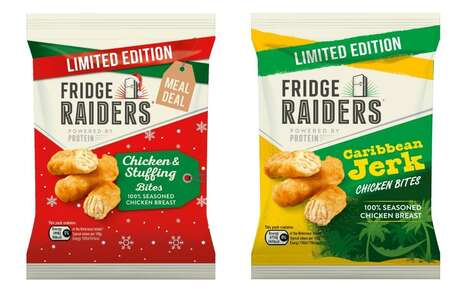 Limited-Edition Frozen Chicken Snacks