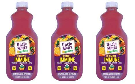 Immunity-Boosting Juice Drinks