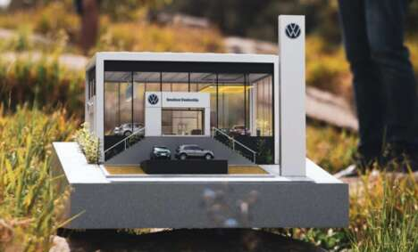 Ultra-Small AR-Enhanced Car Dealerships