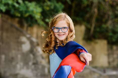 Superhero-Themed Kid's Glasses