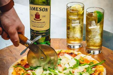 Whiskey-Paired Pizza Events