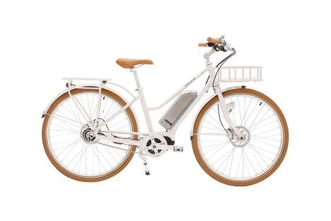 Sleek White eBikes