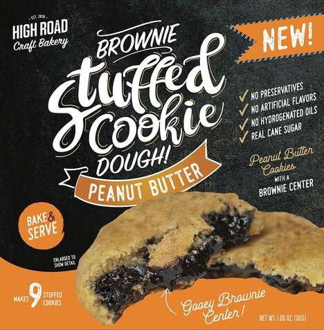 Brownie-Filled Cookie Doughs