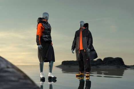 Futuristic Sustainable Threaded Sportswear