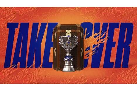 Designer eSports Trophy Cases
