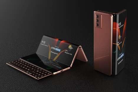 Z-Shaped Smartphones