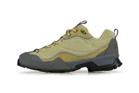 Retro Earthy Hiking Shoes
