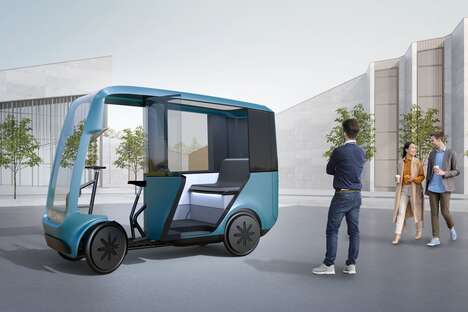 Pedal-Assist Eco Taxis