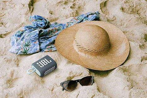 Beach-Friendly Portable Speakers