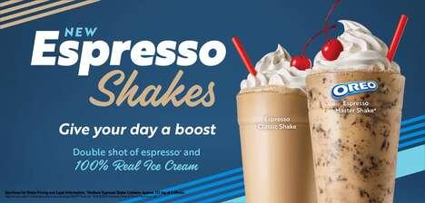 Espresso-Infused Milkshakes