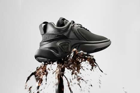 Luxe Airy Sleek Sneakers