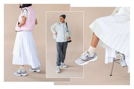 Light-Themed Tonal Sportswear