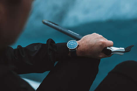 Glacier-Inspired Luxury Watches