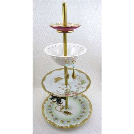 Antique Jewelry Stands Display Your