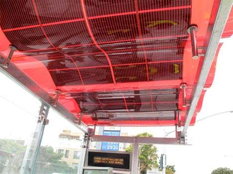 Eco Bus Stops - San Francisco Unveils Project for Solar Powered Transit Stations
