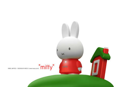 Miffy the MP3 Playing Bunny by MobiBLU