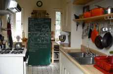 DIY Chalkboard Fridges - Food Diaries & Drawing Boards for Kids Allows Smooth Running Kitchens