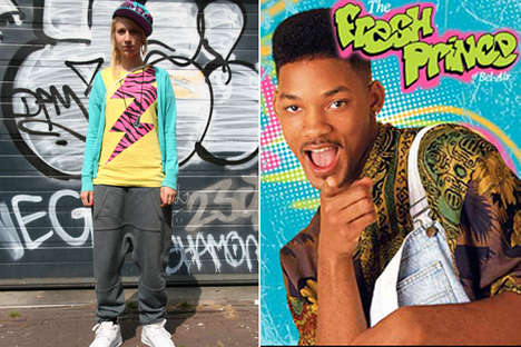 Neon 90's TV Fashion - The Fresh Prince Brings Back Old School Style Sensation