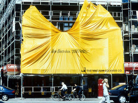 Poster-Wrapped Architecture