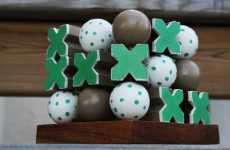 Faux Bird Games - Robin's Egg Tic Tac Toe Game Sets Your Guests Atwitter