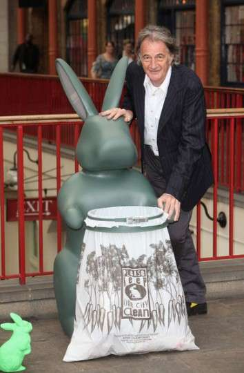 Paul Smith Garbage Cans Have Hares Helping the Environment
