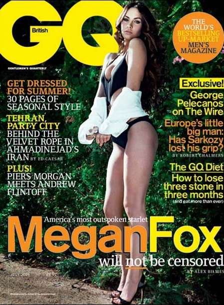 Comparing Actors to Prostitutes - Megan Fox Speaks Her Mind in British GQ to Spark Media Attention