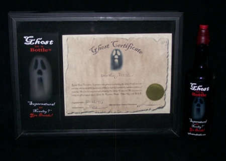 Haunted Wine Bottles