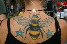 Stinging Tattoos - Buzzing Bee Ink Lets Summer Last Year-Round