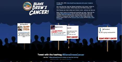 'Blame Drew's Cancer' Lets You Tweet Your Anger