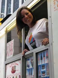 Innappropriate Dessert Branding - The Big Gay Ice Cream Truck Roams NYC