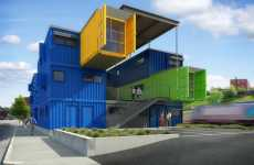 Shipping Container Offices - Truth Box Architects Break Ground on Providence Eco Design