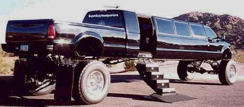 Hillbilly Limos: Outrageous Options for Brides on a Budget