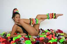 Funky Scrunchies - American Apparel Brings Back 80s Hair Ties