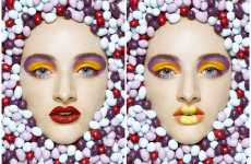 Facial Candy Couture - Therese Aldgard Designs Look For Sweet-Tooth Beauties