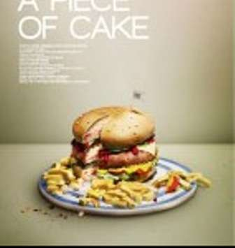 WAD Magazine Shows Off Burger-Shaped 'Meal Cake'