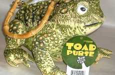 Reptile Bags - Will the Toad Purse Lure or Repel Your Prince Charming?
