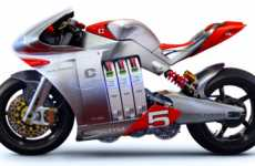iPhone Jacked Superbikes - MotoCzysz E1pc Motorcycle Embraces High-Tech Gadgets