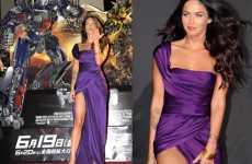 Leggy Movie Star Fashion - Megan Fox Flaunts Killer Legs at Transformers Tokyo Premier