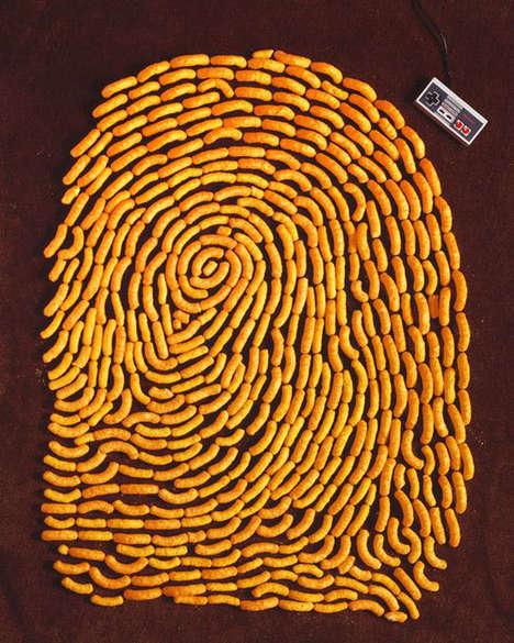 Food-Formed Fingerprints