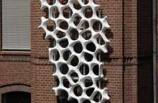 Anti-Pollution Sculptures - Pretty Building Purifiers by Elegant Embellishments Ltd.