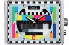 Psychedelic Watches - Test Card Watch by D&G Looks Like TV Color Bars
