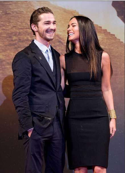 Food-Stained Fashion - Megan Fox and Shia Lebouf Don Grubby Clothes at Premiere